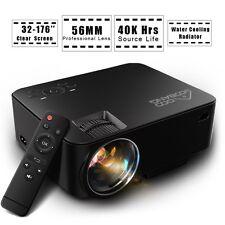 Projector, GooBang Doo T20 Portable Mini Home Theater Video Projector 1080P 1500
