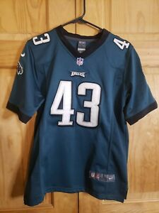Nike On-Field Darren Sproles #43 Eagles Jersey Youth Large 14-16 Green Stitched