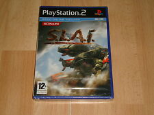 S.L.A.I. STEEL LANCER ARENA INTERNATIONAL DE KONAMI SONY PS2 NUEVO PRECINTADO