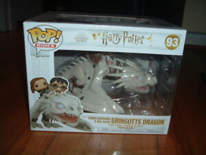FUNKO POP! RIDES GRINGOTTS DRAGON #93~ MINT~ HARRY POTTER SERIES~