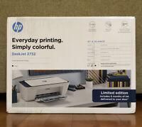 *NEW* HP Deskjet 2732 Compact Printer Wireless AllInOne Instant Ink Ready Indigo