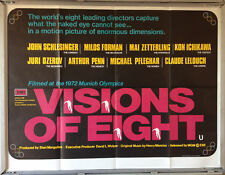 Cinema Poster: VISIONS OF EIGHT 1973 (Quad) Milos Forman Kon Ichikawa