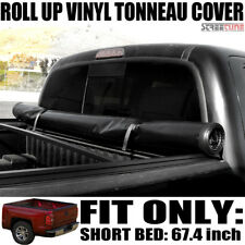 "For 09-18 Dodge Ram Truck 5.7'/68.4"" Short Cab Lock & Roll Up Soft Tonneau Cover"
