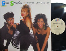 """Sweet Sensation - 12"""" Never Let You Go (Pic Cover) (5 Mixes) ('88)"""