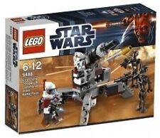 LEGO STAR WARS Set # 9488 Elite Clone Trooper & Commando Droid Battle Pack - NEW