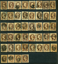 Nice Old Time Banknote Stock w/ Huge Variety Scott Cat $5000+++ (LOT #449)
