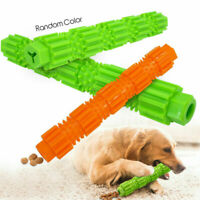 Aggressive Dog Chew Toys Chewers Treat Training Rubber Tooth Cleaning Tools UK