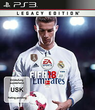 FIFA 18 - Legacy Edition (Sony PlayStation 3, 2017)