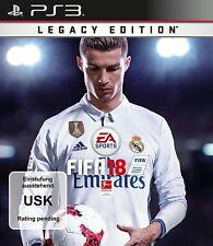 FIFA 18 - Legacy Edition 2018 Playstation 3 PS3 Spiel Sogar Noch Verpackt