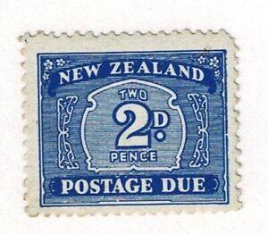 NEW ZEALAND - 1939 POSTAGE DUE 2d - Sc#J24 - UHM - E 1730