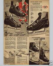 1963 PAPER AD 5 PG Boom Boom Geoffrion Frank Mahovlich Maurice Richards Hockey