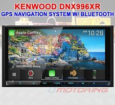 "KENWOOD EXCELON DNX996XR NAVIGATION RECEIVER 7.0"" HIGH DEF DISPLAY BLUETOOTH DVD"