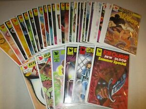Elfquest: New Blood #1-33 (Complete) From Warp 1-35 series, Lot set Signed Pini