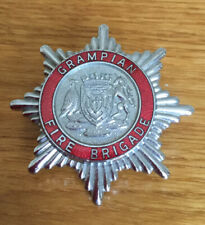 An old original, Grampian  Fire Brigade, cap badge.