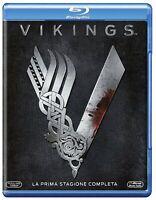 Vikings - Stagione 1 - Cofanetto Con 3 Blu Ray - Nuovo Sigillato