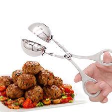 Kitchen Stainless Steel Meatball Maker Folder Spoon Diy Beef Fish Shrimp Balls