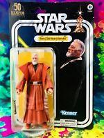 "Ben (Obi-Wan) Kenobi Star Wars Black Series 50 Lucasfilm Kenner 6"" Action Figure"