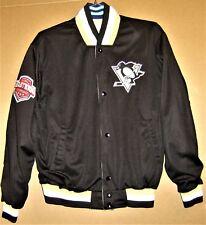 PITTSBURGH PENGUINS Black/Gold REVERSIBLE NHL GIII Apparel Size Large JACKET