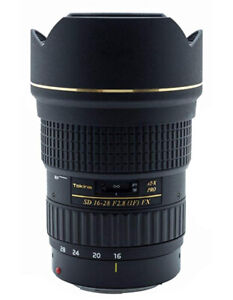 Tokina FX 16-28mm f/2.8 Pro AT-X Lens for Canon EF