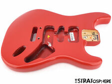* Fender American Stratocaster Strat DELUXE BODY USA Guitar Fiesta Red #542