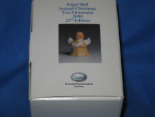 2000 goebel angel bell ornament pink