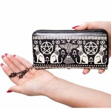 Banned Apparel Anubis Gothic Egyptian Cat Pyramid Rockabilly Wallet
