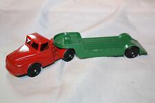 Vintage Lone Star Transporteur tracteur & remorque, bon état d'origine, rare