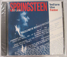 BRUCE SPRINGSTEEN BEFORE THE FAME VERY RARE CD - BRAND NEW