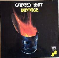 """CANNED HEAT⚠️Mint⚠️  1970-12""""LP VINTAGE Bellaphon BLPS 19021"""