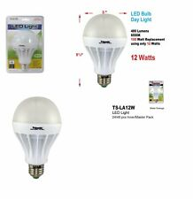 100 Watt Equivalent TRISONIC LED Light Bulbs 12W Daylight pack of 2  new