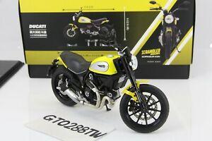 TSM 1:12 Ducati Scrambler Icon 2015 Yellow(True Scale/TrueScale)Taiwan Exclusive