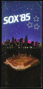 1985 Chicago White Sox Media Guide