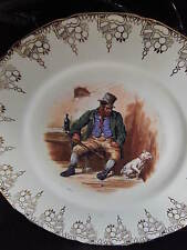 Royal Doulton Vintage English Bone China Dickens Series Bill Sikes Plate