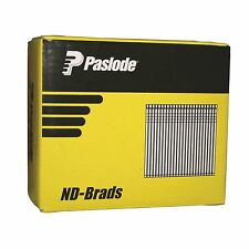 Paslode PNEUMATIC ND50 BRADS NAILS 50x2mm 2000Pcs Galvanised Steel 14 Gauge