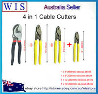 4 in 1 Cable Cutting Pliers,Copper Aluminium Wire Cutters,Electration Tool Set