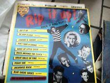 """LP 12"""" RIP IT UP 105 CLASSIC DOPPIO  PRESLEY BUDDY HOLLY BILL HALEY  EX+/N-MINT"""