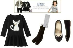 NWT Gymboree Catastic Dresses, Tights, or Shoes U-Pick