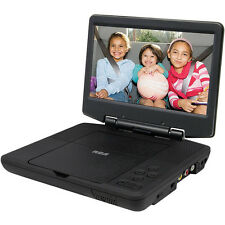"RCA Portable DVD Player 9"" Display, Black Certified Refurbished - DRC98090"