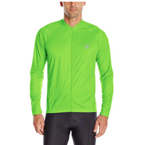 Mens Canari Jacket Bicycling Optic Nova Killer Yellow Reflective Cycling S Small