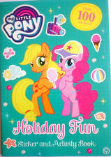 My Little Pony OVER 100 STICKERS Holiday Fun Activity Book Hasbro Colouring NEW