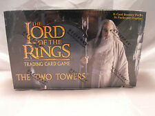 LORD OF THE RINGS TCG TWO TOWERS COMPLETE SEALED BOX OF 36 PACKS