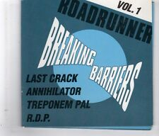 (HL65) Roadrunner Vol 1, Last Crack/Annihilator/R.D.P. etc. - 1991 DJ CD