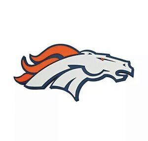 New NFL Denver Broncos 3-D Foam Magnet Home Office Bar Decor - Made in USA