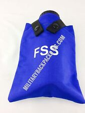 NEW Blue Alice Clip Canteen Water Bottle Pouch FSS Forest Service Fire Fighting