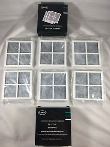 NEW 6 Replacement Refrigerator Air Filters for LG LT120F - 2 Packs 3 Each!!