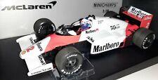 Minichamps F1 McLaren TAG MP4-2B Alain Prost 1/18 World Champion 1985 Marlboro
