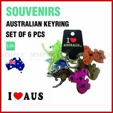 6pcs Australian Souvenirs Keyring Chain Acrylic Koala Gift Bulk Aussie