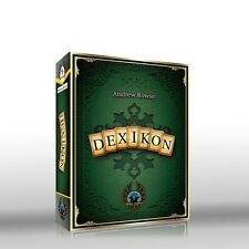 Dexikon Card Game Eagle-Gryphon Games EGG #5 Word Letters Family Deck Building