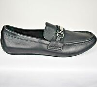 Cole Haan Somerset Bit II Black Tumbled Leather Loafers C11835 Mens 10.5 M EUC