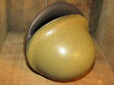 VINTAGE ROSENTHAL STUDIO LINE GERMANY DECORATIVE ORGANIC GREEN SPECKLED VASE